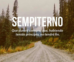 sempiterno, words, and frases image