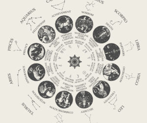 zodiac, astrology, and virgo image