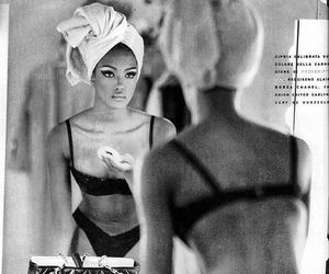 model, Naomi Campbell, and beauty image