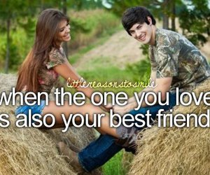 love, best friend, and quote image