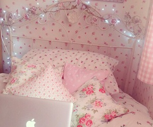aesthetic, bedroom, and lights image