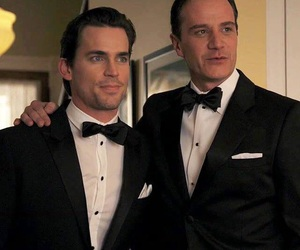 white collar, peter burke, and neal caffrey image