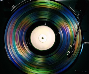 music, vinyl, and cool image