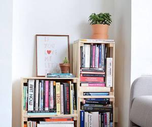 bookcase, diy, and librero image