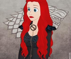 ariel, disney, and stark image