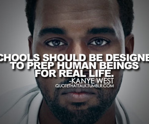 quote, kanye west, and life image