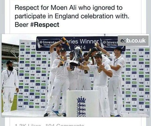 celebration, respect, and moin ali image