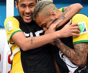 neymar, dani alves, and neymar jr image