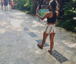 cancun, lost, and xcaret image
