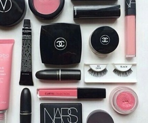 channel, makeup, and nars image