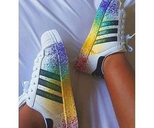 adidas, shoes, and color image