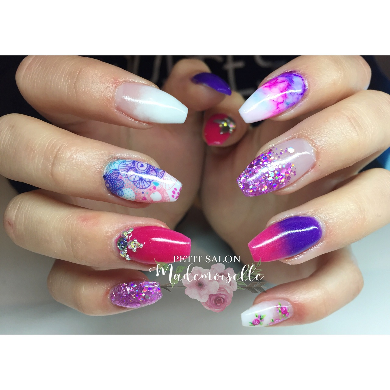 Andreea Reyes 253 images about nails�� on we heart it | see more about