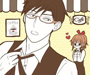 anime, sweet, and anime couple image