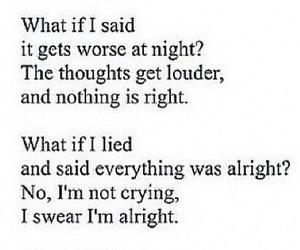 quotes, depressed, and sad image