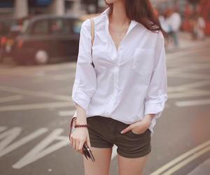 casual, white, and kfashion image