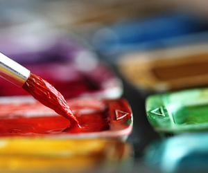 paint, colors, and red image