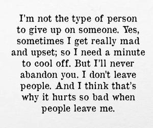 hurts, leaveme, and sad image