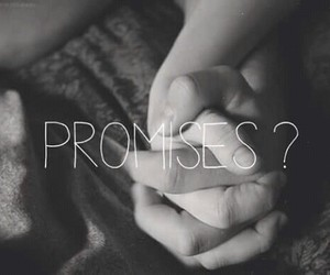 adorable, couple, and promises image