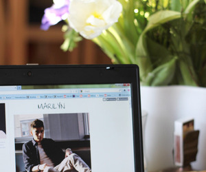 fashion, flowers, and hp image