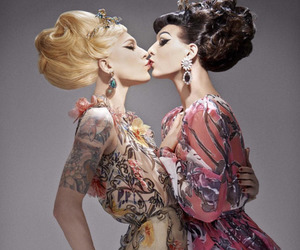 miss fame, violet chachki, and ru paul drag race image