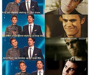 the vampire diaries, nian, and funny image