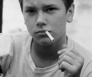 river phoenix, stand by me, and cigarette image