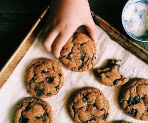 chocolate, Cookies, and brown butter image