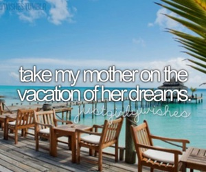 bucket list, vacation, and love image