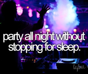 party, before i die, and night image