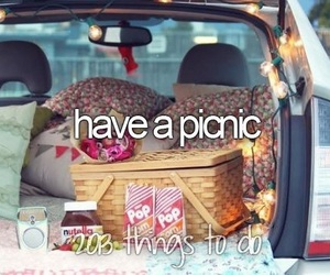goals, life, and picnic image