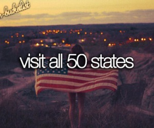 usa, states, and bucket list image