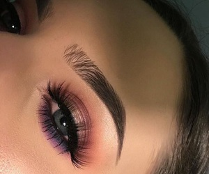 beauty, brows, and eyeliner image