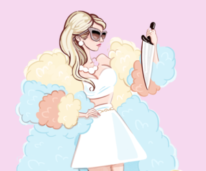 wallpaper, background, and scream queens image