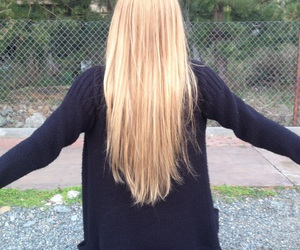 hair and blomde image