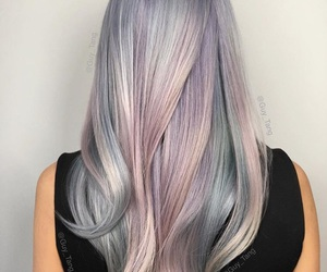 colors, magical, and hair image