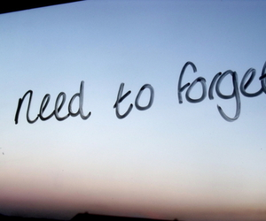 forget and need image