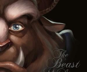 beast, disney, and prince adam image