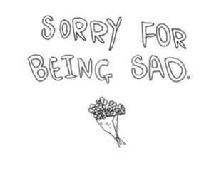 sad, sorry, and quotes image