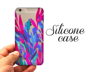 etsy, iphone, and colorful leaves image