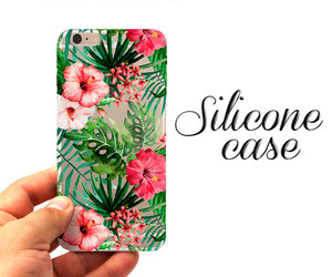 etsy, flower case, and silicone case image