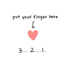 gif, heart, and finger image