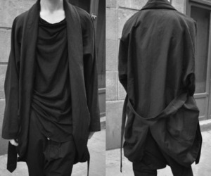 noir, street style, and large image