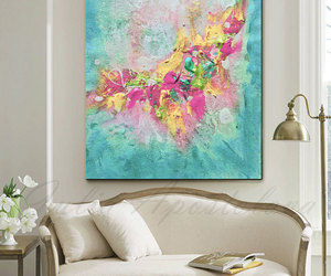 Abstract Painting and etsy image