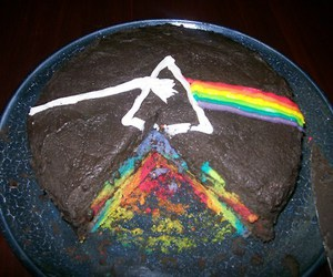 cake, Pink Floyd, and colors image