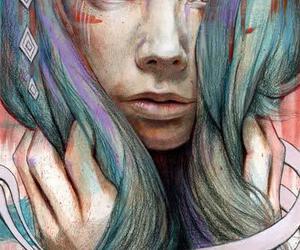 art, drawing, and michael shapcott image