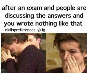 exam and one direction image