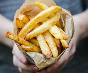 food, fries, and chips image