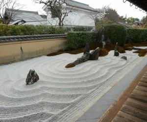 garden, japan, and zen image