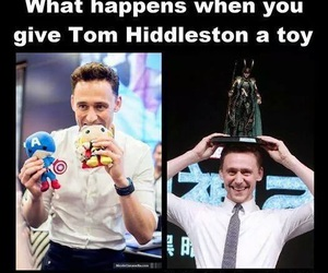 tom hiddleston, loki, and funny image