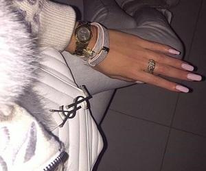 fashion, nails, and girl image
